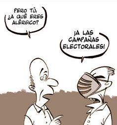 Votantes en campaña