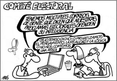 Partido en campaña electoral